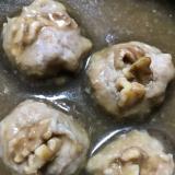 干し椎茸の里芋乗せ煮
