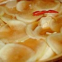 シンプルなヘルシ~モツ鍋 醤油味