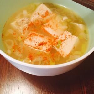 簡単5分でできる湯豆腐