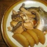 お魚のあらと大根の煮物