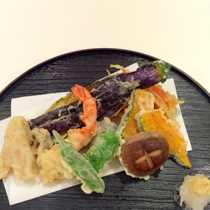 @天ぷら・かき揚げセット