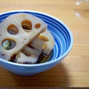 レンコン煮物