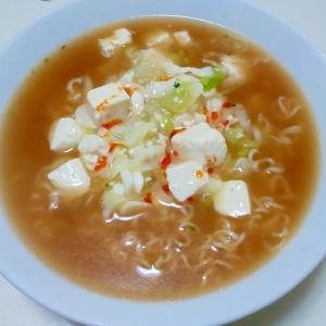 豆腐ラーメン++