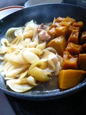 ほっくりかぼちゃ煮&とろける玉ねぎ煮