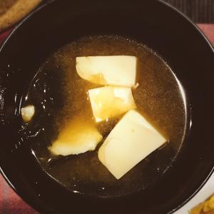 王道!わかめと豆腐のみそ汁