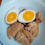 玉子と鶏肉のさっぱり煮
