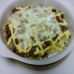 納豆のチーズドリア