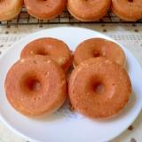 干し柿の焼きドーナツ