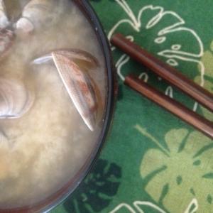 旦那様の好きな、あさりの味噌汁(*^^*)☆