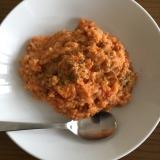 ミートソースアレンジ3 チーズトマトリゾット