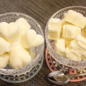 低糖質クリームチーズとヨーグルトのフローズンアイス