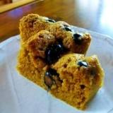 米ぬか100%小麦粉不使用!黒豆米ぬかケーキ