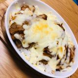 チーズ蒲焼鳥丼