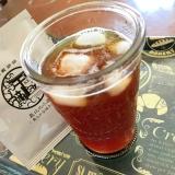 ホエーで☆黒糖アイスコーヒー