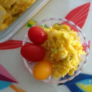 カボチャと玉ねぎのサラダ