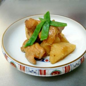 簡単!長芋と鶏肉の煮物
