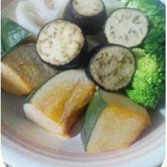 レンジでゴロッと温野菜