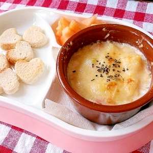 離乳食後期~完了期☆ポテトチーズグラタン