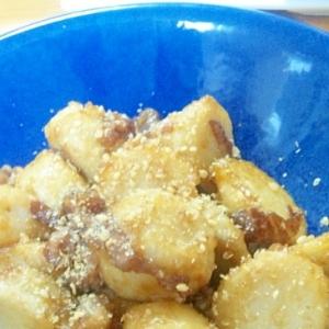 里芋と牛肉の甘辛炒め