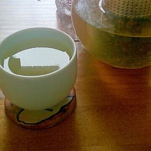ライムリーフ、ミントのさわやか緑茶