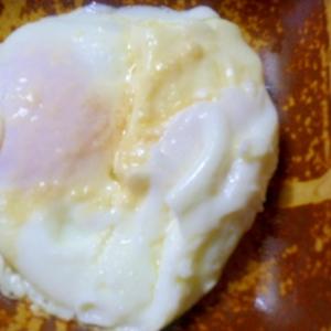チーズ入り目玉焼き