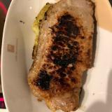 簡単、豚味噌ステーキ