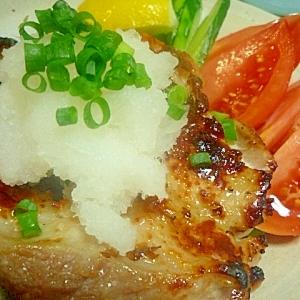 塩麹で★おろしポン酢チキンステーキ