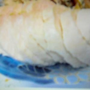 塩抜き無しで簡単鶏ハム 安くてジューシー美味しい
