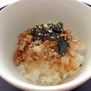 韓国風?私の大好きな納豆ごはん