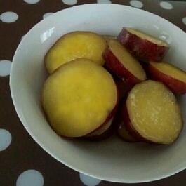 おやつに☆あまーいサツマイモの甘露煮