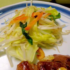 ■10分で..油使わず野菜炒め風蒸し焼き野菜