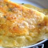 ポテトとベーコンとチーズのギョズレメ