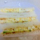 卵ときゅうりのサンドイッチ☆