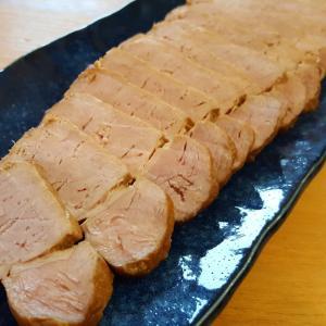 豚もも肉の簡単チャーシュー