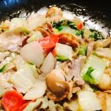 農家さん直伝◎シャキッと美味しい菊芋の八宝菜風炒め