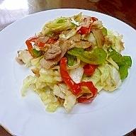 生姜野菜炒め