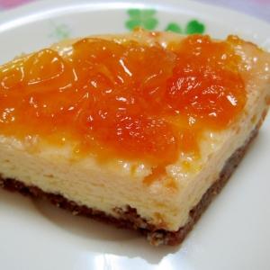みかんのチーズケーキ