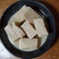 高野豆腐と人参の煮物