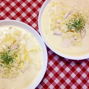 鶏肉とキャベツ☆クリームシチュー