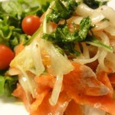 酸味を変えて作る「サーモンマリネ」レシピ