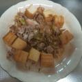 豚肉と厚揚げの甘辛煮