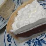 ココナッツパイ(チョコレートハウピアパイ風)
