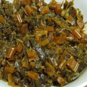 蕪の葉の山椒佃煮