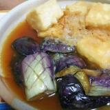 大根おろしで美味しいヘルシー♪揚げ出し豆腐&なす