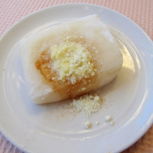 焼き餅アレンジ✨粉チーズ・レモンオリーブオイル✨