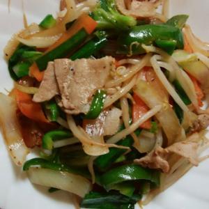 シンプル肉野菜炒め