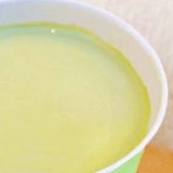 抹茶塩麹ミルク