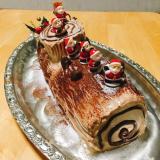 「クリスマスケーキ」も手作りで♪