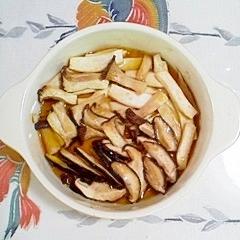 エリンギと椎茸のトースター焼き