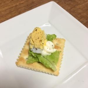 マヨ卵クラッカー